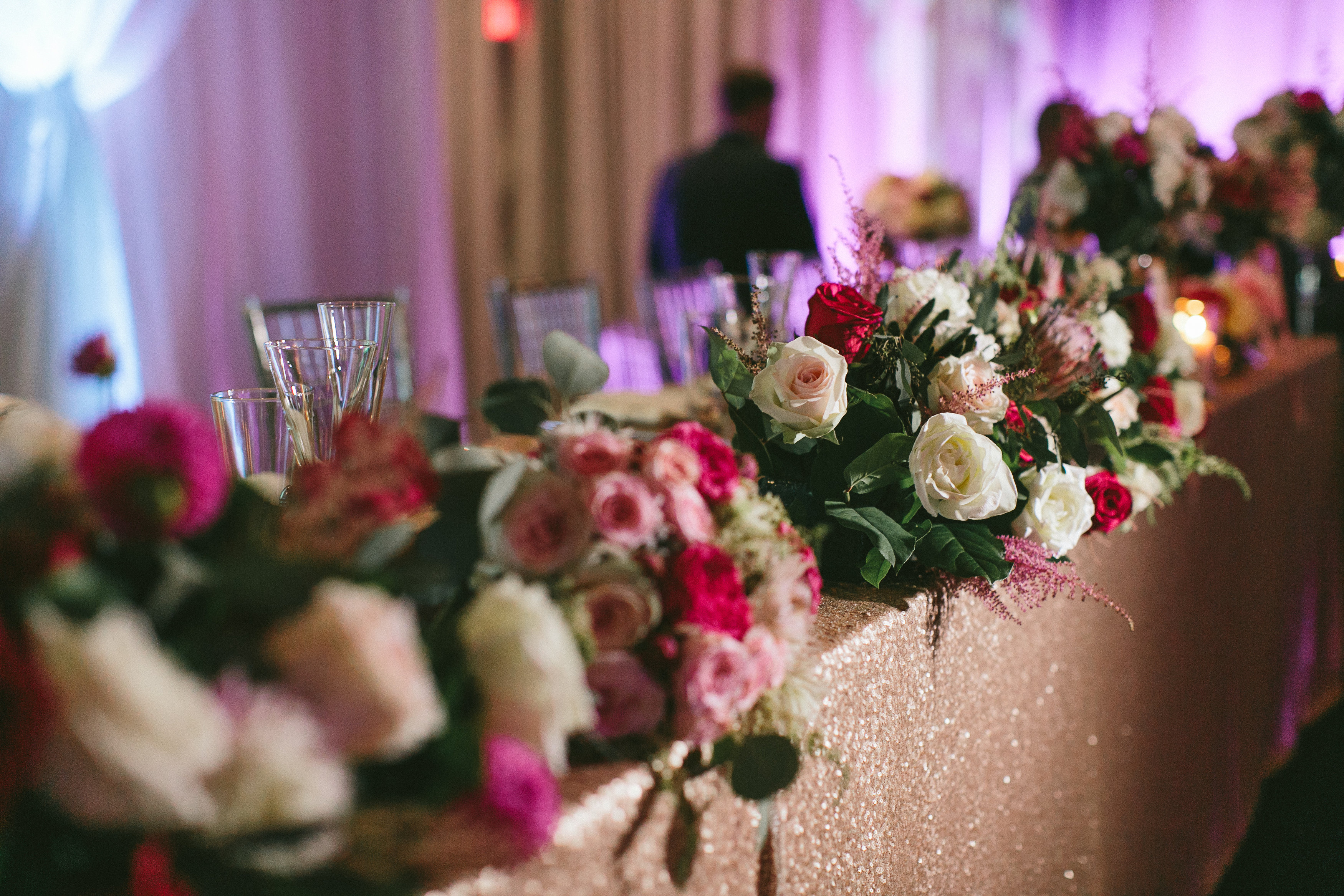 Sophisticated Garden-Inspired Wedding in Toronto at the Grand Luxe