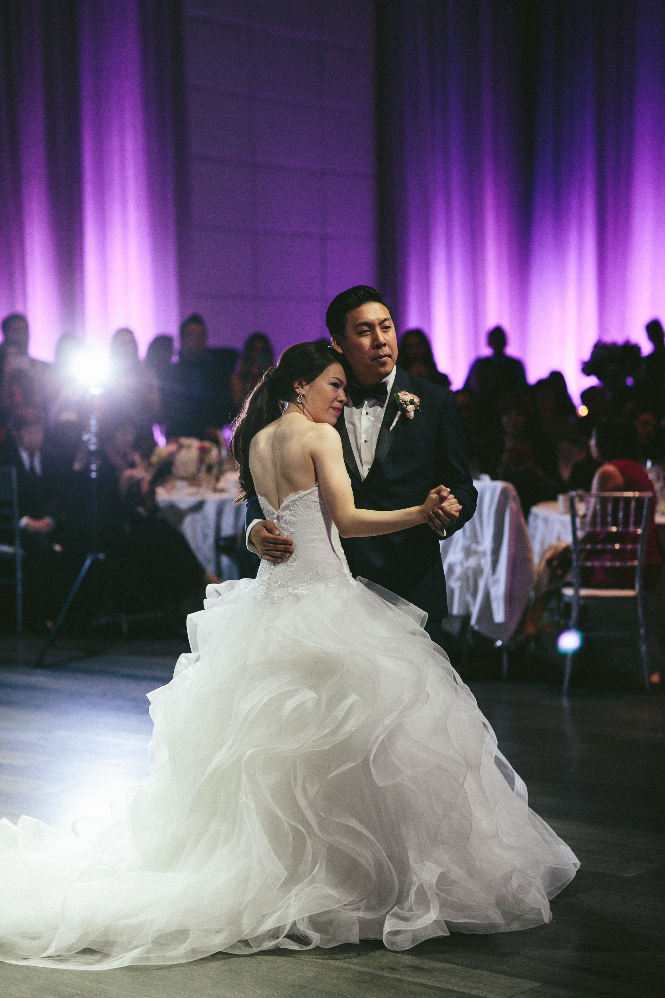 Sophisticated Garden-Inspired Wedding in Toronto at the Grand Luxe - first dance