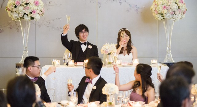 Modern White and Blush Wedding at Four Seasons Hotel Toronto