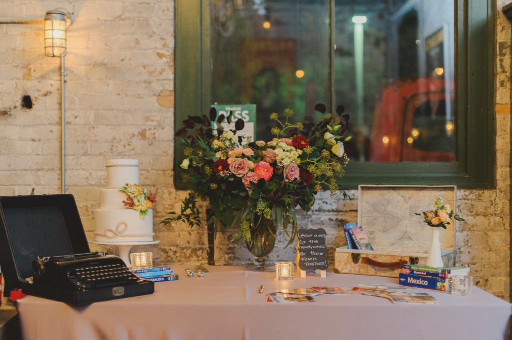 Intimate wedding at Balzac's in the Distillery District with Coriander Girl