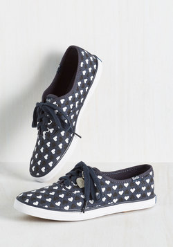 Modcloth bridal collection - Keds sneaker with hearts
