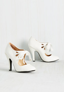 Modcloth bridal collection - Tea on the train heel
