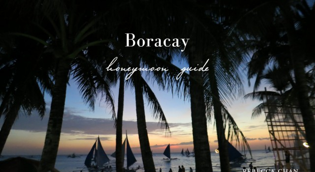 Boracay honeymoon travel guide