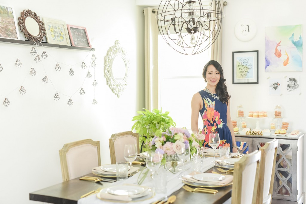 At-Home entertaining and house party decor styled shoot with wedding planner Rebecca Chan www.rebeccachan.ca