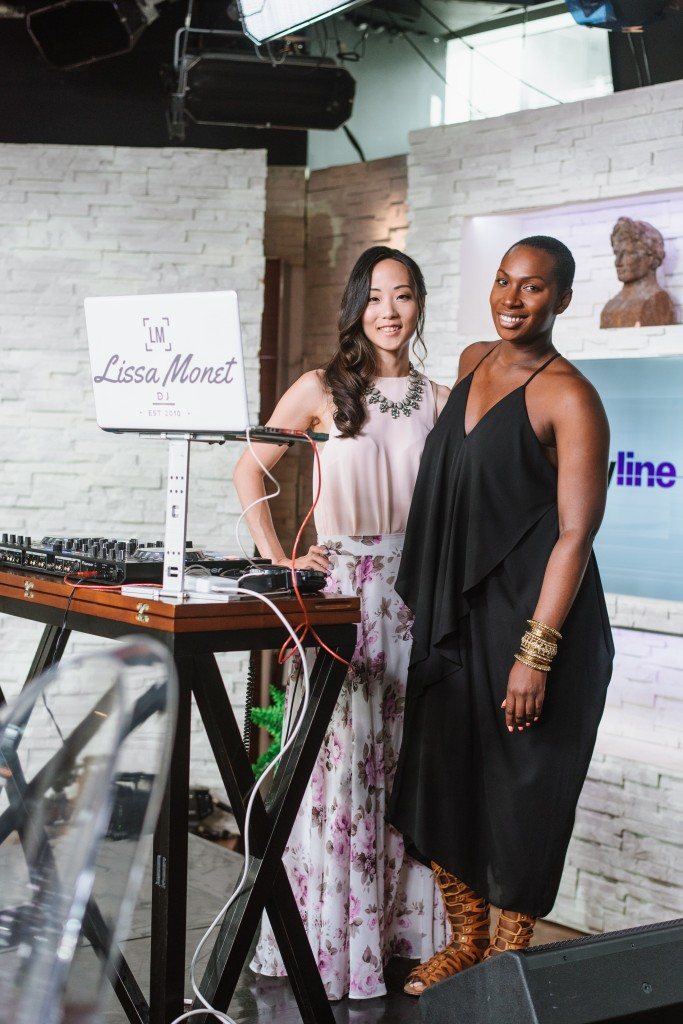 With DJ Lissa Monet, at Cityline's wedding special