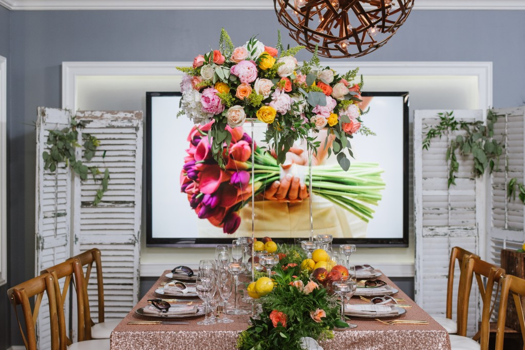 Prop Styling and Set Design for Cityline's Wedding Segment in Toronto