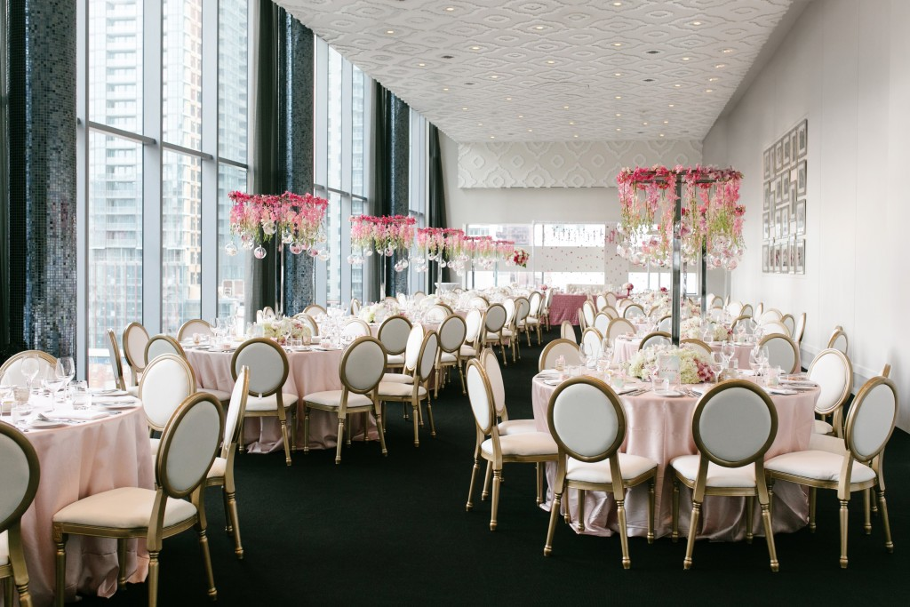 Ombre and Blush Wedding at Malaparte