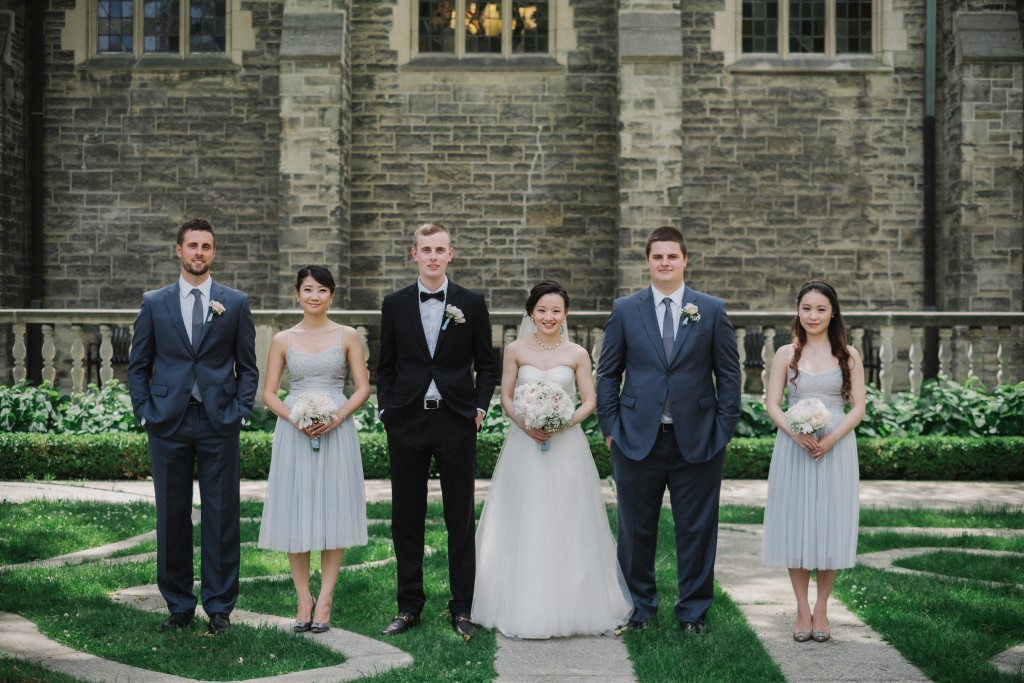 Whimsical wedding at Toronto Board of Trade