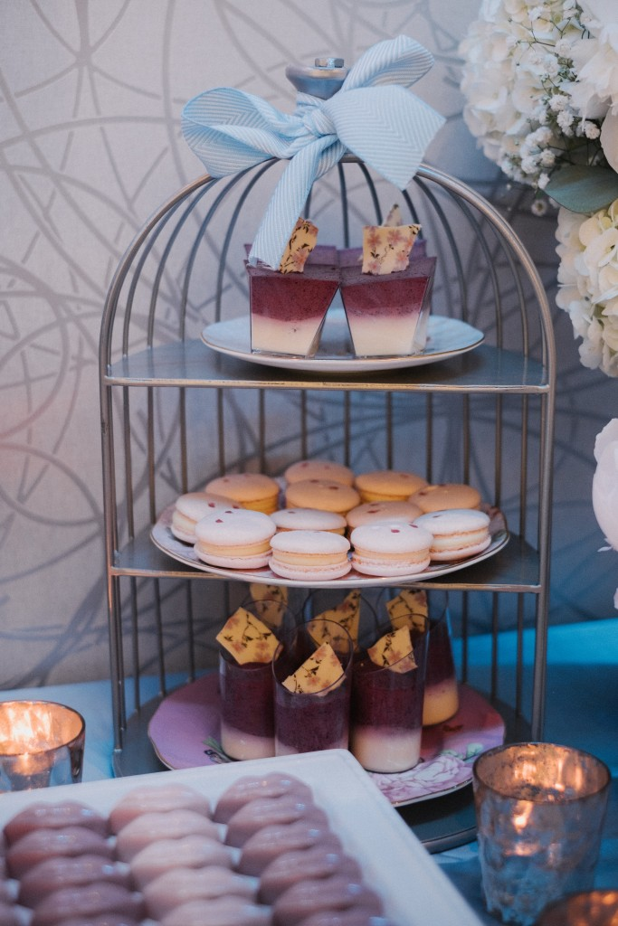 Dreamy sweets table from Monde Du Chocolat - Whimsical wedding at Toronto Board of Trade