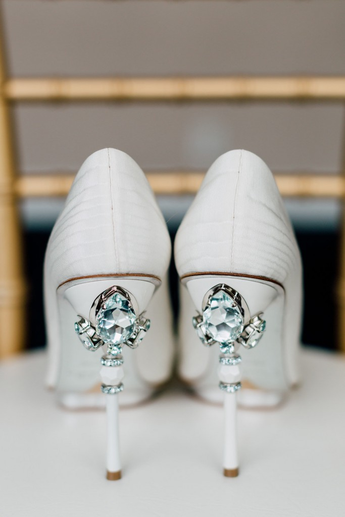 Oscar de la renta shoes - Regatta Inspired Wedding at Royal Canadian Yacht Club