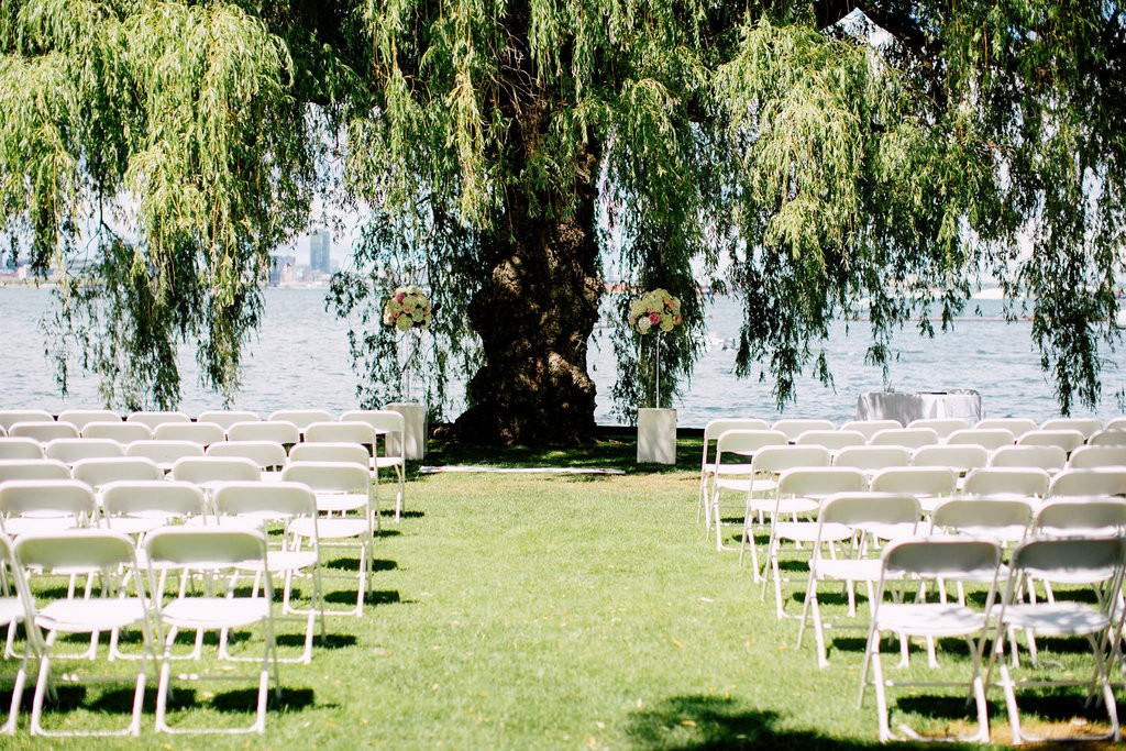 Regatta Inspired Wedding Ceremony at Royal Canadian Yacht Club