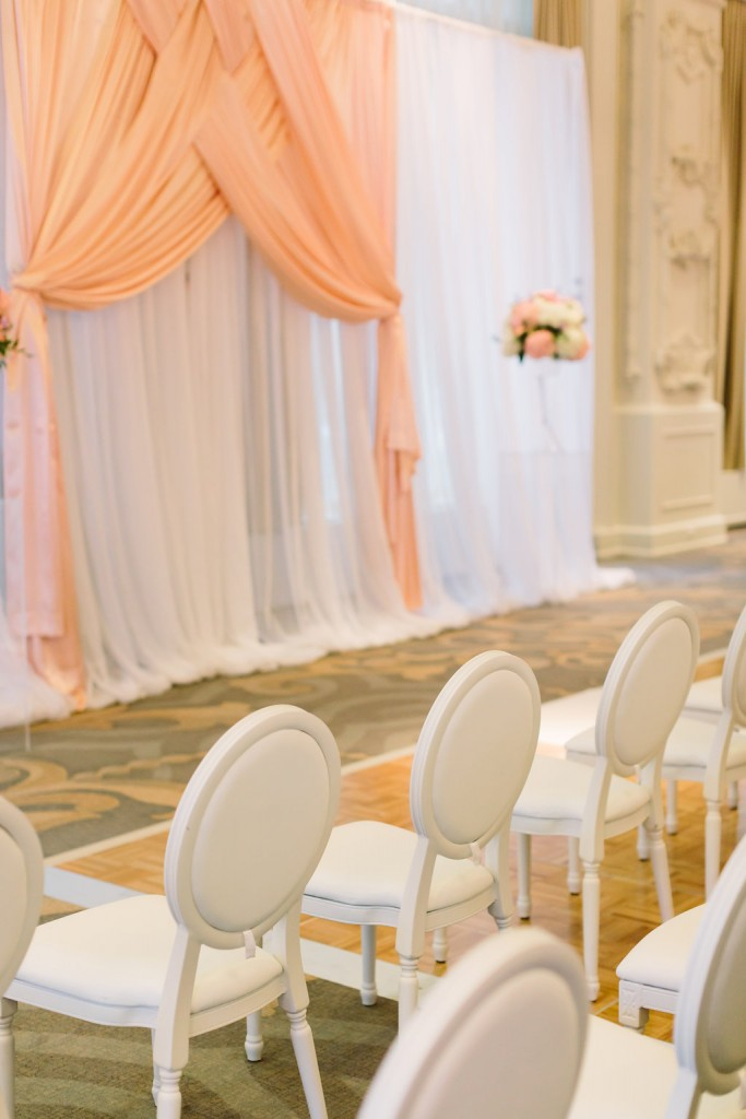 Elegant wedding at King Edward Hotel