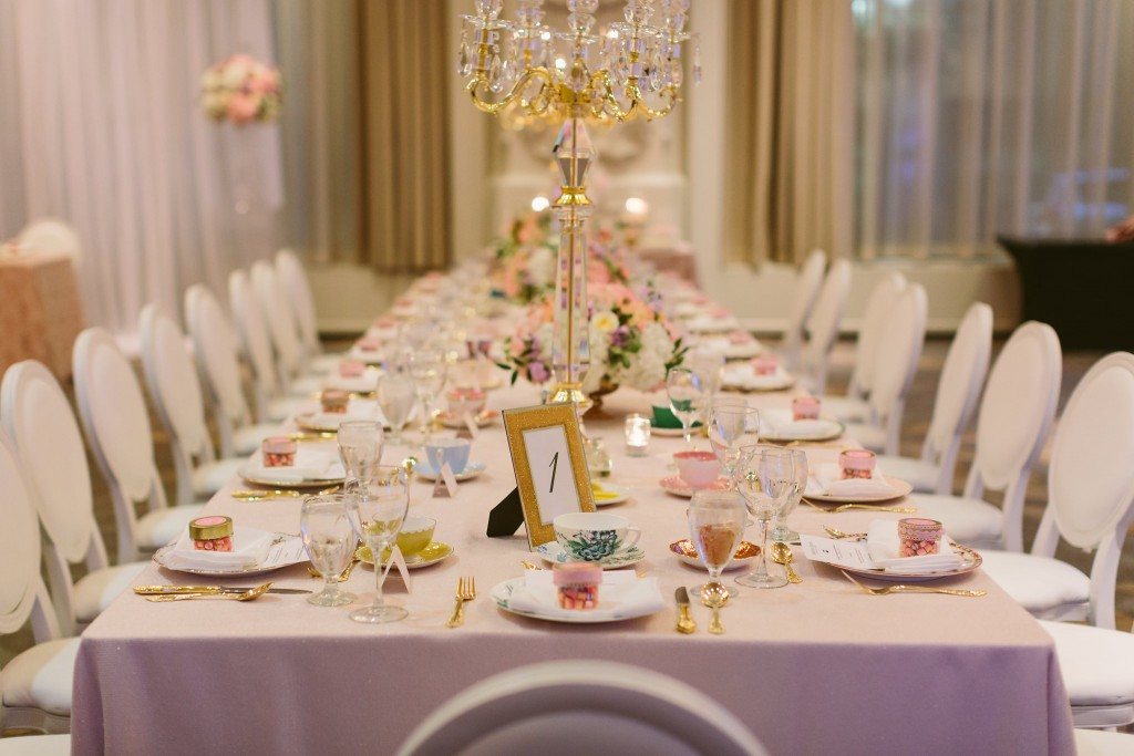 Vintage Afternoon-Tea Inspired Wedding at the Omni King Edward Hotel