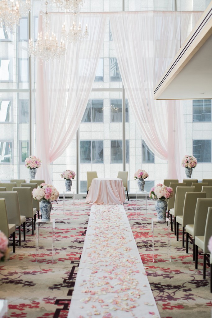 Elegant Shangri La Hotel Toronto Wedding Rebecca Chan Weddings