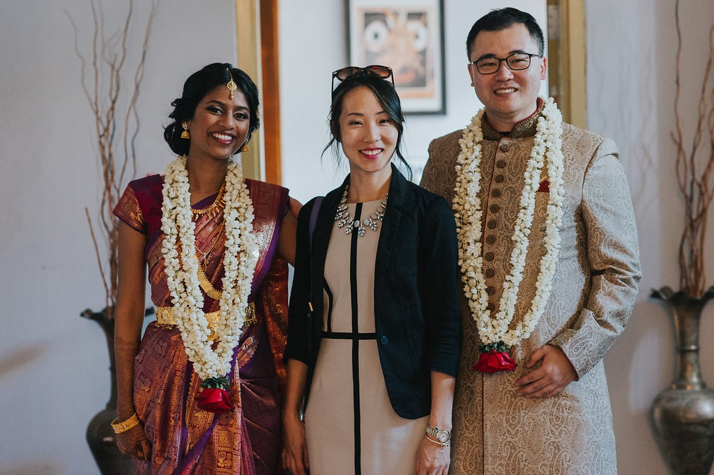 Modern Chinese Indian Wedding at the National School of Ballet