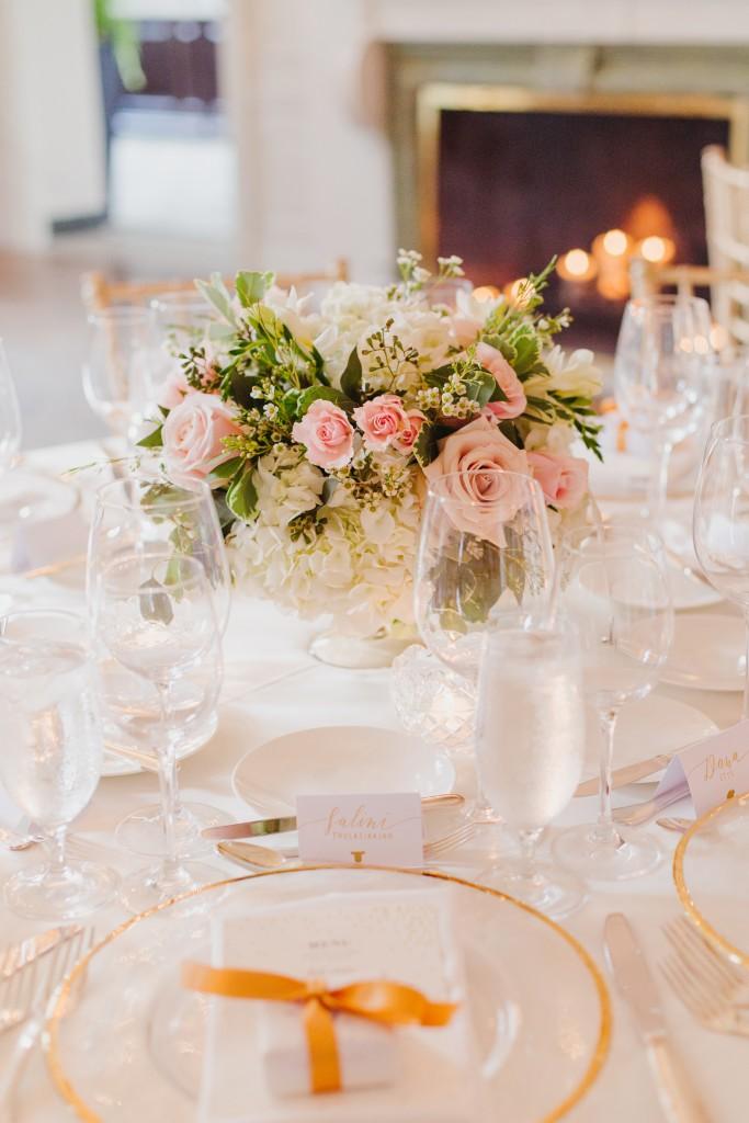 Gold and Ivory Garden Wedding at Graydon Hall Manor