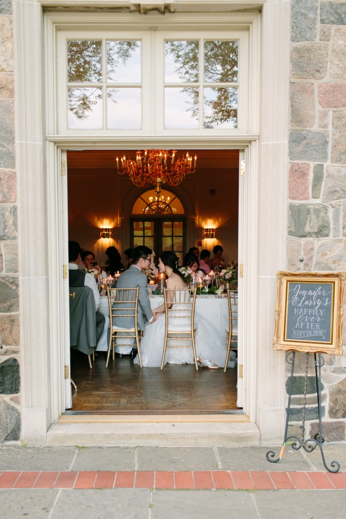 Gold and Ivory Garden Wedding at Graydon Hall Manor