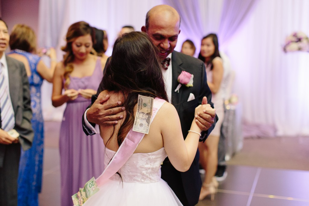 Arcadian Court wedding - Filipino money dance