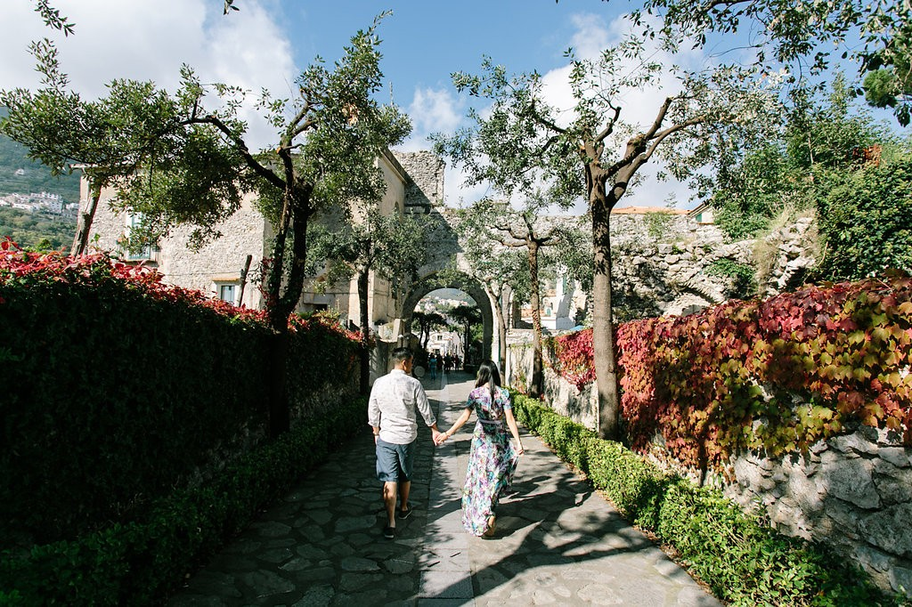 Romantic Amalfi Coast Honeymoon Ideas. Photo: Joee Wong Photography, As seen on www.rebeccachan.ca