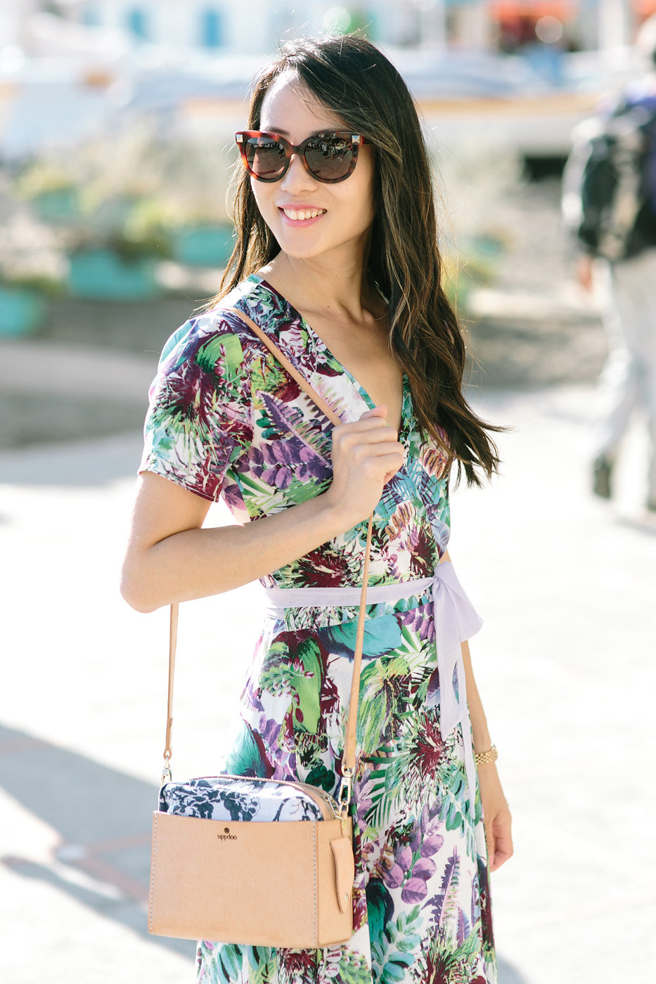 Amalfi Coast Honeymoon Ideas - What we wear. Uppdo purse. Photo: Joee Wong Photography, As seen on www.rebeccachan.ca