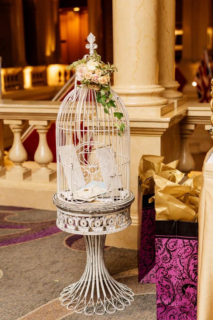 Romantic Pink and Gold Wedding at Omni King Edward Hotel