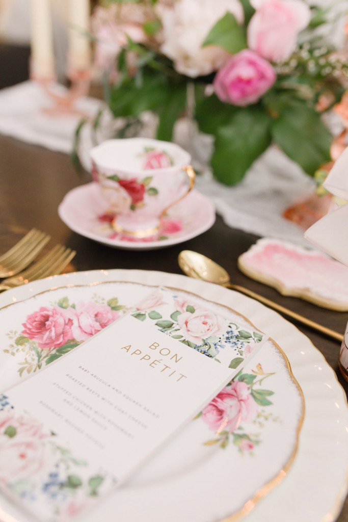 An intimate dinner party with event planner Rebecca Chan