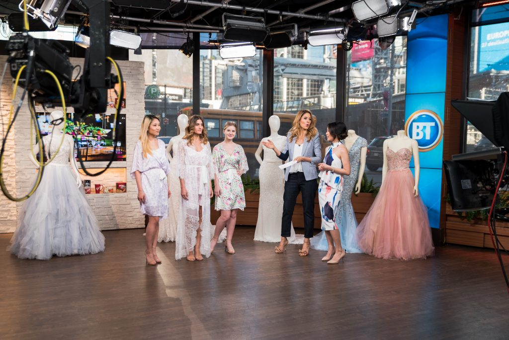 Wedding Planner Rebecca Chan on Breakfast Television Toronto on wedding fashion trends