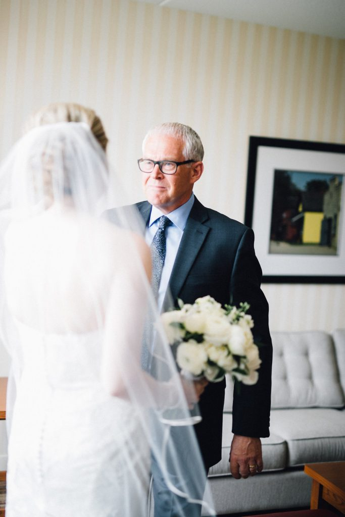 Gorgeous Whistle Bear Golf Club Wedding - father of the bride