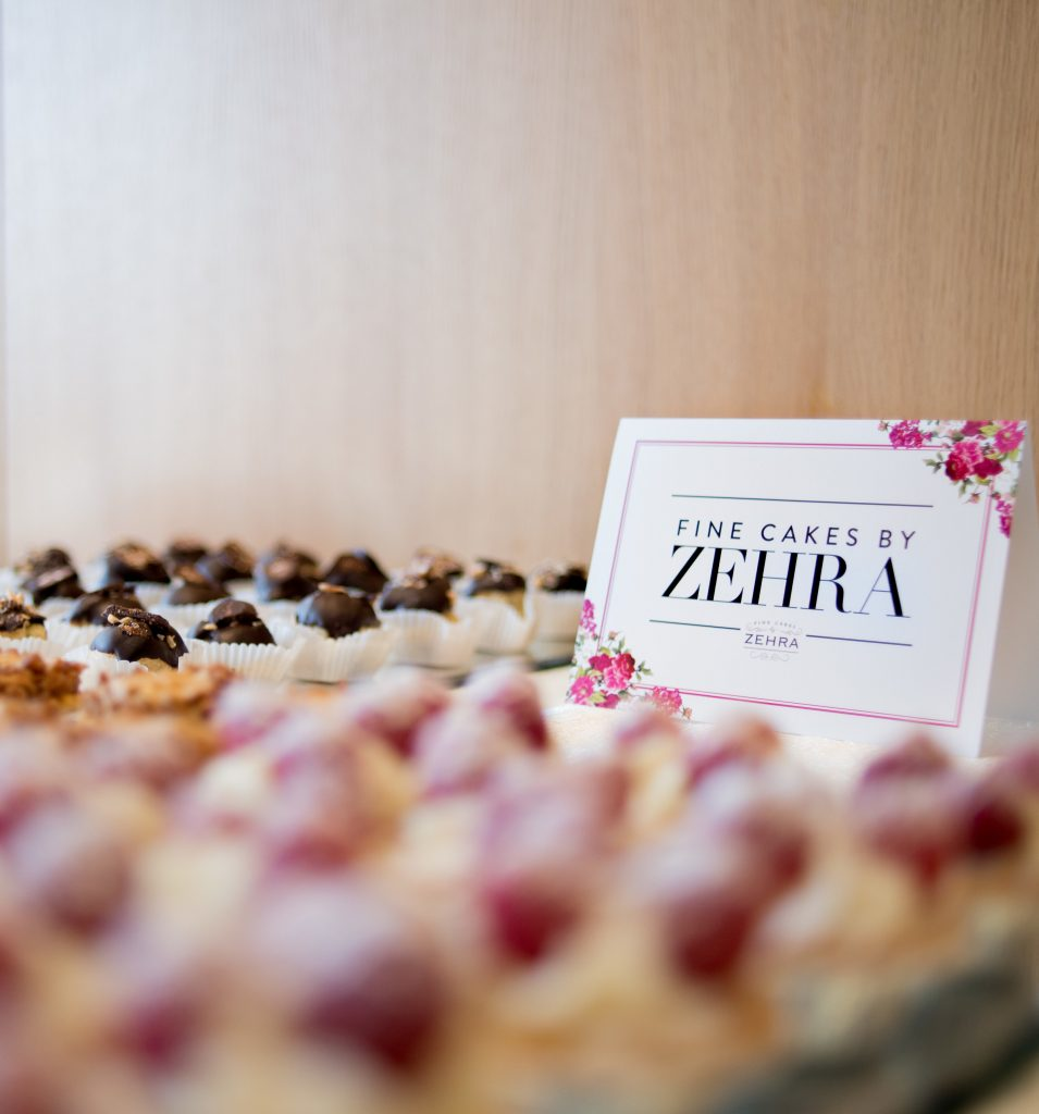Sweets table by Fine Cakes by Zehra
