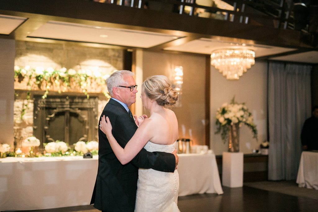 Gorgeous Whistle Bear Golf Club Wedding - father daughter dance