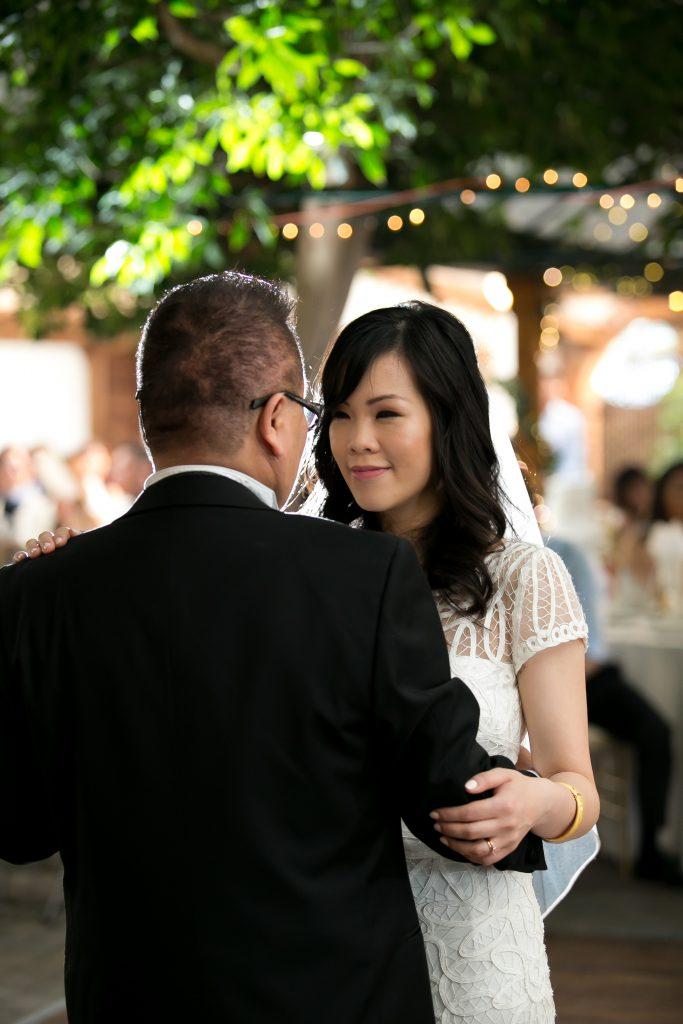 Elegant Madsen's Greenhouse wedding - father daughter dance