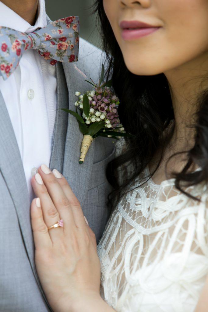 Sweet Madsen's Greenhouse wedding - boutonnière