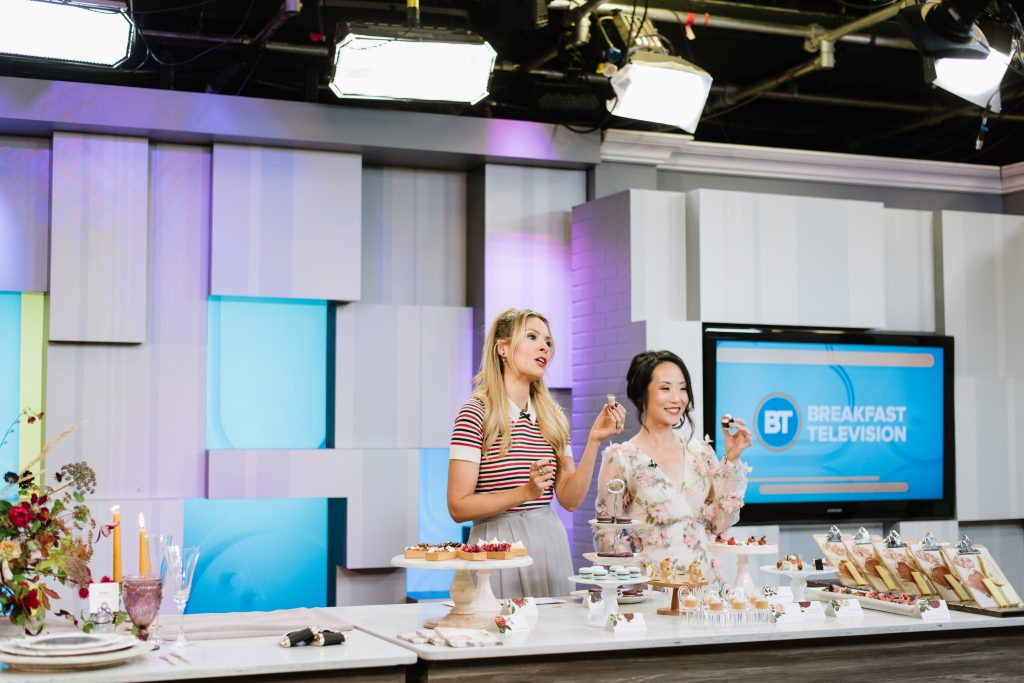 Wedding Planner Rebecca Chan on Breakfast Television with Dina Pugliese