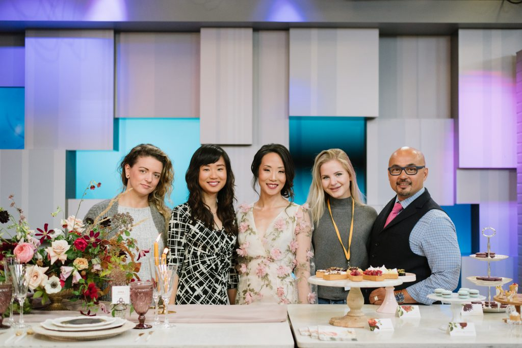Fall Wedding Food Trends with Wedding Planner Rebecca Chan on Breakfast Television