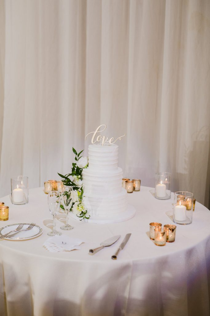 Beautiful white garden wedding at Bellevue Manor