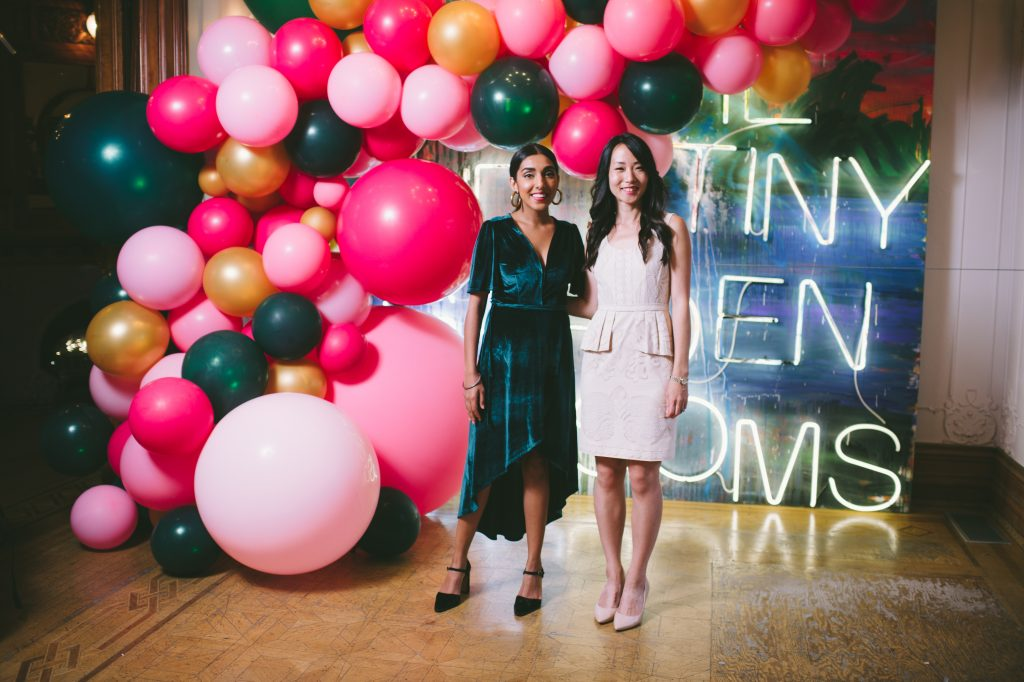 Private party for Rupi Kaur, planned by event planner Rebecca Chan