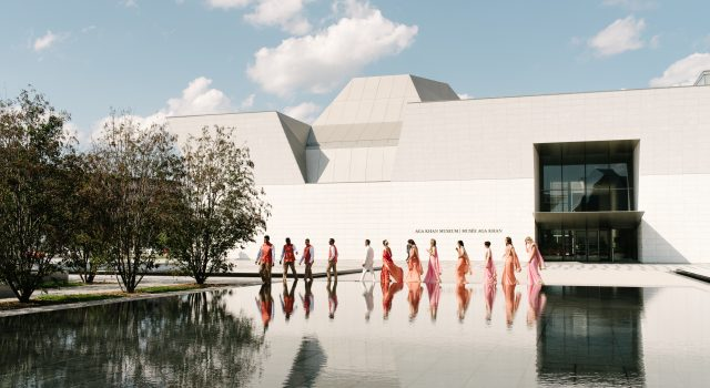 Pink and Coral Wedding at Aga Khan Museum