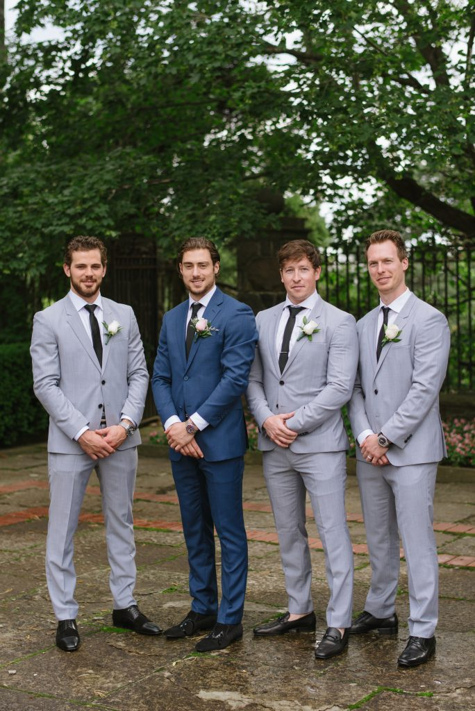 Luxurious Blush Graydon Hall Manor Wedding with Tyler Seguin