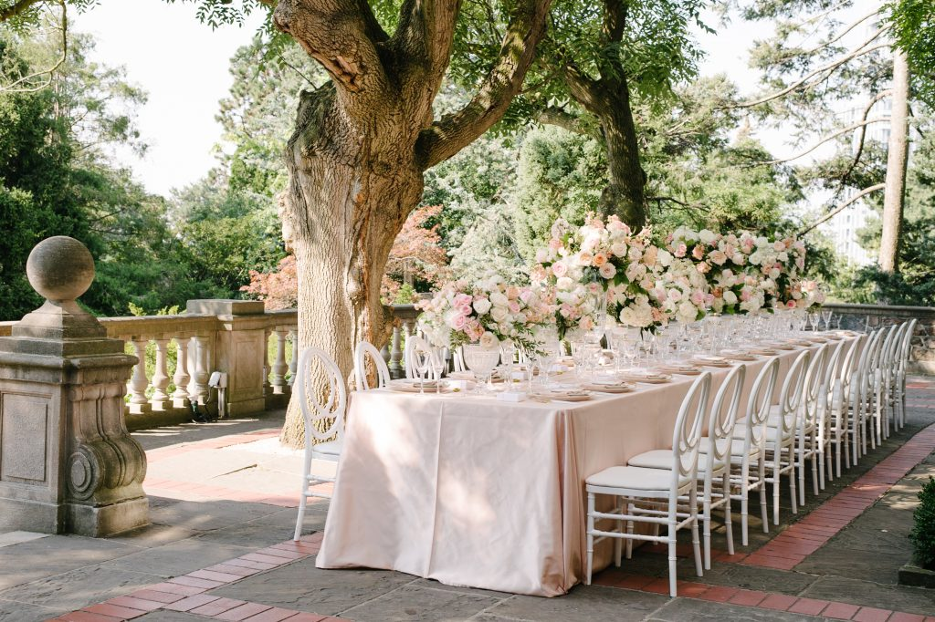Beautiful outdoor wedding at Graydon Hall Manor
