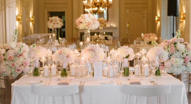 Luxurious Blush Graydon Hall Manor Wedding