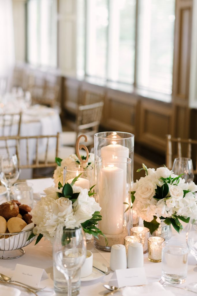 Chic White and Green Garden Wedding