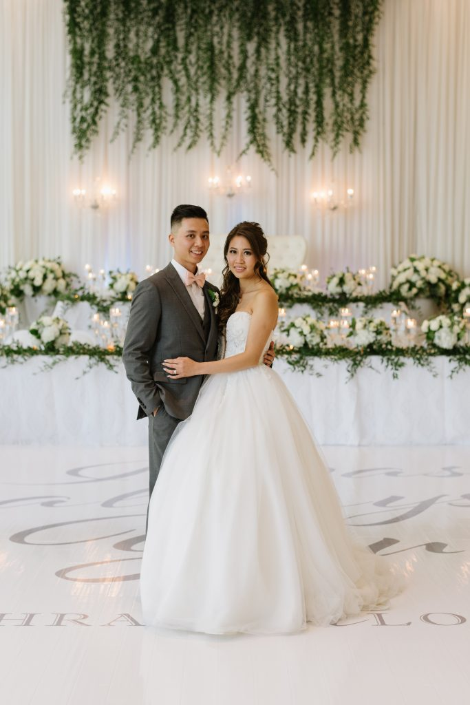 Modern White and Green Chinese Wedding at the Guild Inn Estate