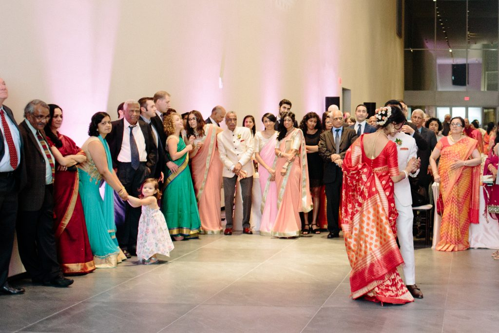 Pink and Coral Wedding at Aga Khan Museum