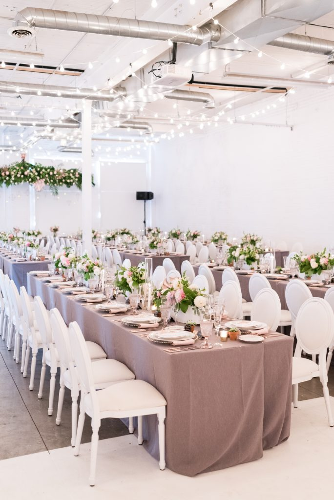 Modern Industrial Wedding at District28
