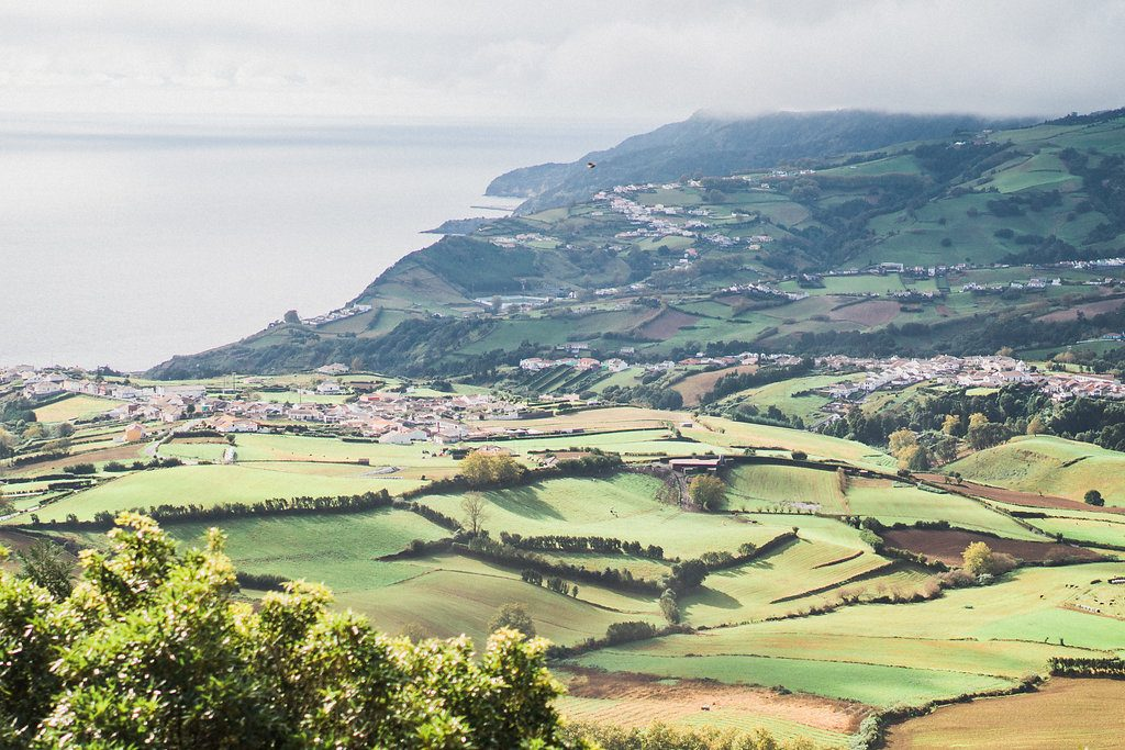 Scenic views from The Azores, Portugal