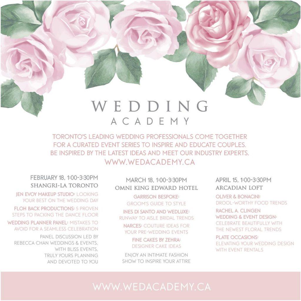 Wedding Academy 2018