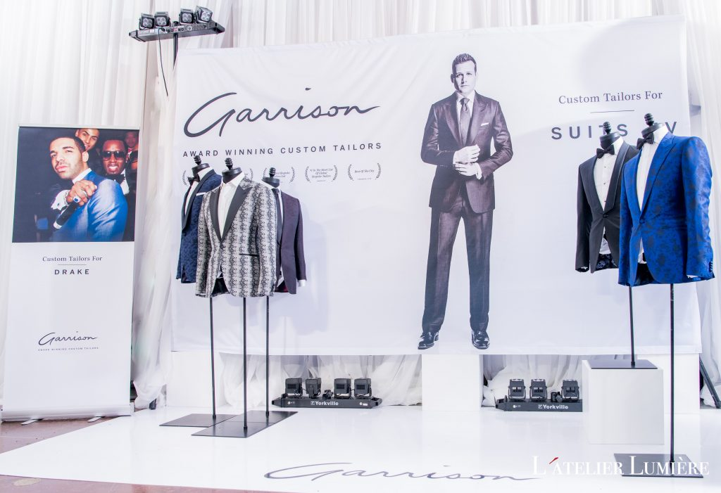 Wedluxe Show 2018 with Garrison Bespoke, designed by Rebecca Chan Weddings and Events
