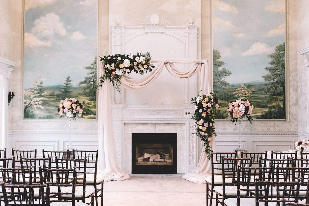 Picturesque indoor garden wedding at Graydon Hall Manor