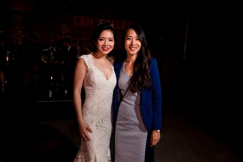 Fun Evergreen Brickworks Wedding - Rebecca Chan with bride