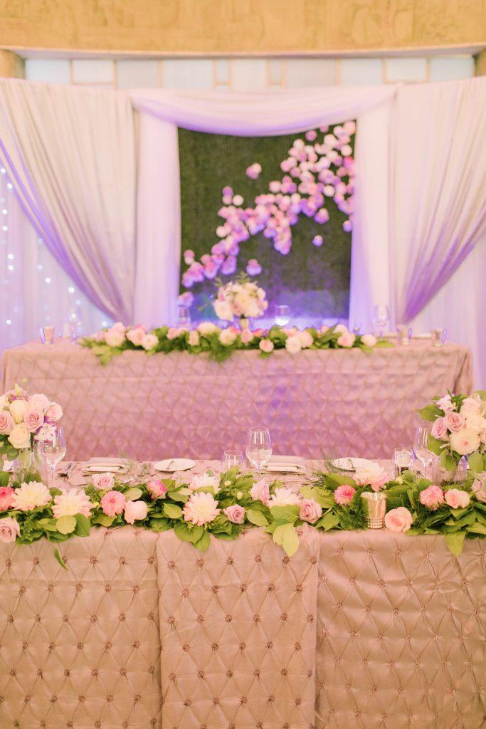 Elegant Lavender Wedding at The Carlu